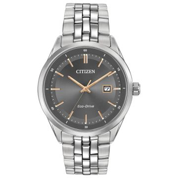 Citizen Eco-Drive Corso Stainless Steel Silver-Tone 41mm Men's Watch