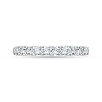 Shah Luxury 18k White Gold Diamond Carizza Boutique Wedding Band