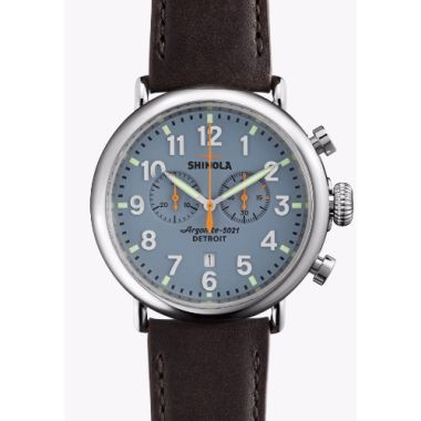 Shinola The Runwell Chrono Quartz Stainless Steel 47mm Men's Watch
