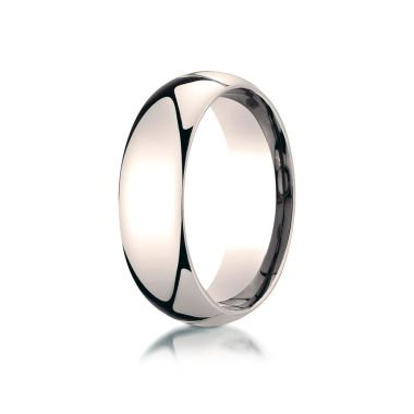 Benchmark 14k Rose Gold Wedding Band