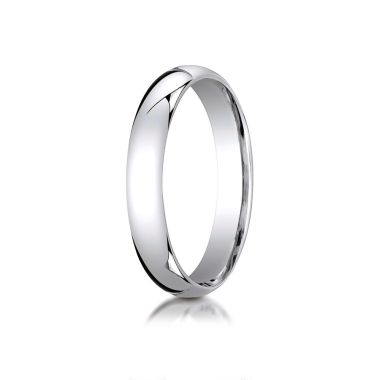 Benchmark 10k White Gold Wedding Band