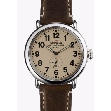 Shinola The Runwell Quartz Stainless Steel 47mm Men's Watch