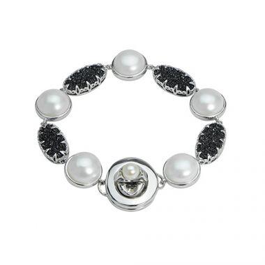 Imperial Pearl Sterling Freshwater Pearl Bracelet