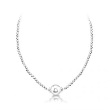 Imperial Pearl Sterling Freshwater Pearl Necklace