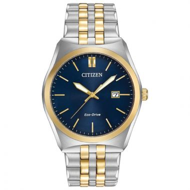 Citizen Eco-Drive Corso Stainless Steel Two-Tone 40mm Men's Watch