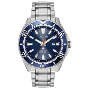 Citizen Eco-Drive Promaster Diver Stainless Steel Two-Tone 45mm Men's Watch