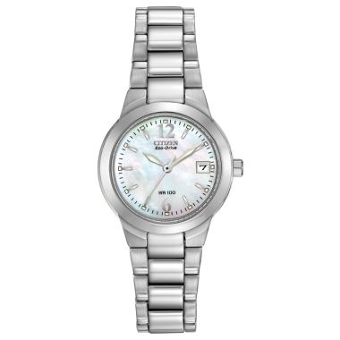 Citizen Eco-Drive Chandler Stainless Steel Silver-Tone 26mm Women's Watch