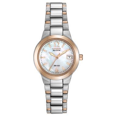 Citizen Eco-Drive Chandler Stainless Steel Two-Tone 26mm Women's Watch