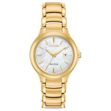Citizen Eco-Drive Chandler Stainless Steel Gold-Tone 30mm Women's Watch
