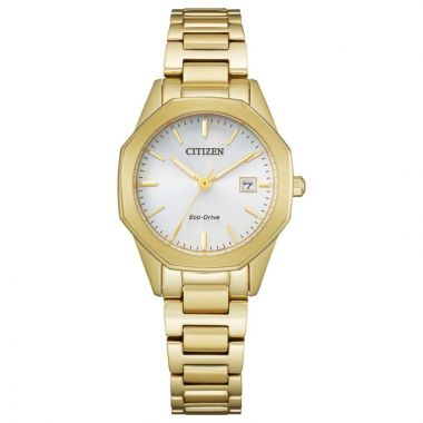 Citizen Eco-Drive Corso Stainless Steel Women's Watch