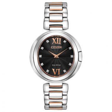 Citizen Eco-Drive Capella Stainless Steel Women's Diamond Watch
