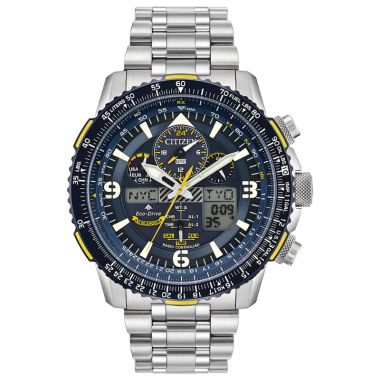 Citizen Eco-Drive Promaster Skyhawk Atomic Time Stainless Steel Two-Tone 46mm Men's Watch