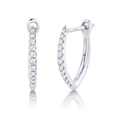 Shy Creation Hoop Earrings