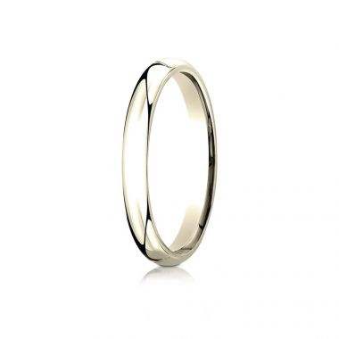 Benchmark 14k Yellow Gold Wedding Band