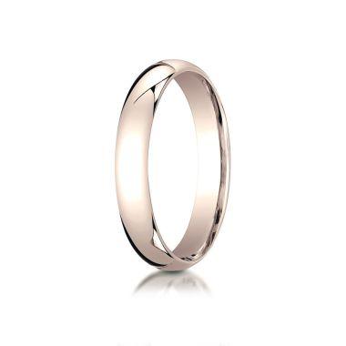 Benchmark 14k Rose Gold Wedding Band